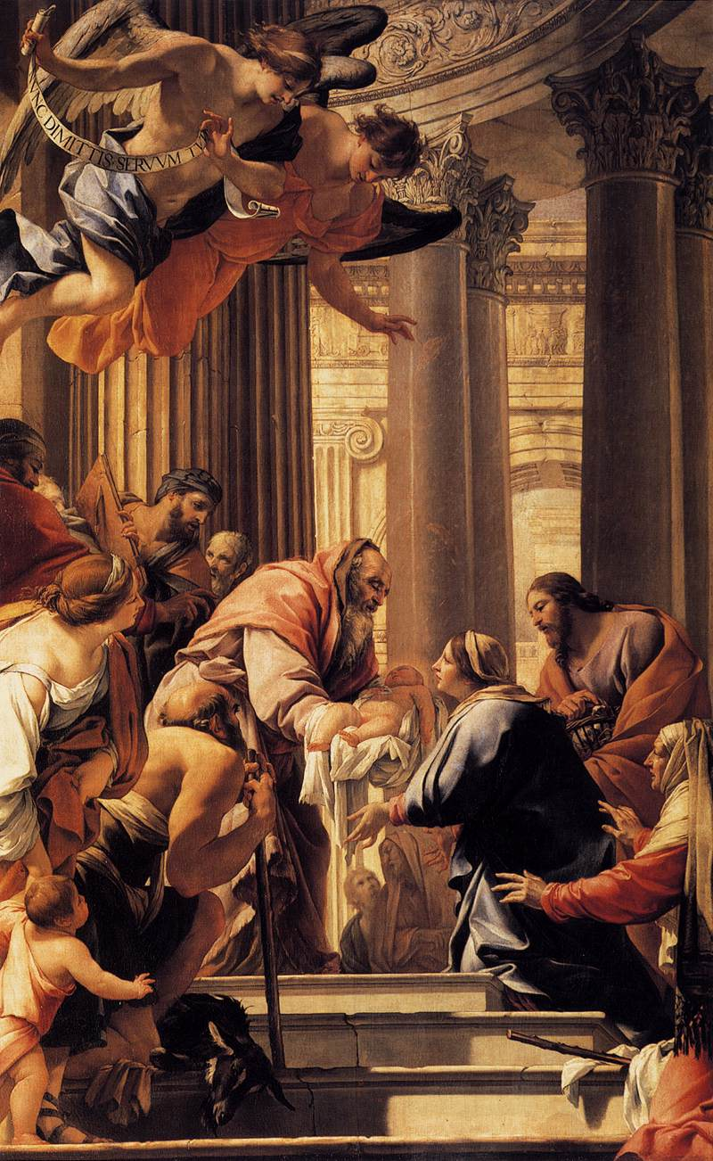 Presentation in the Temple: Simon Vouet